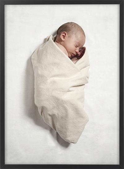 kūdikis ir rėmelis